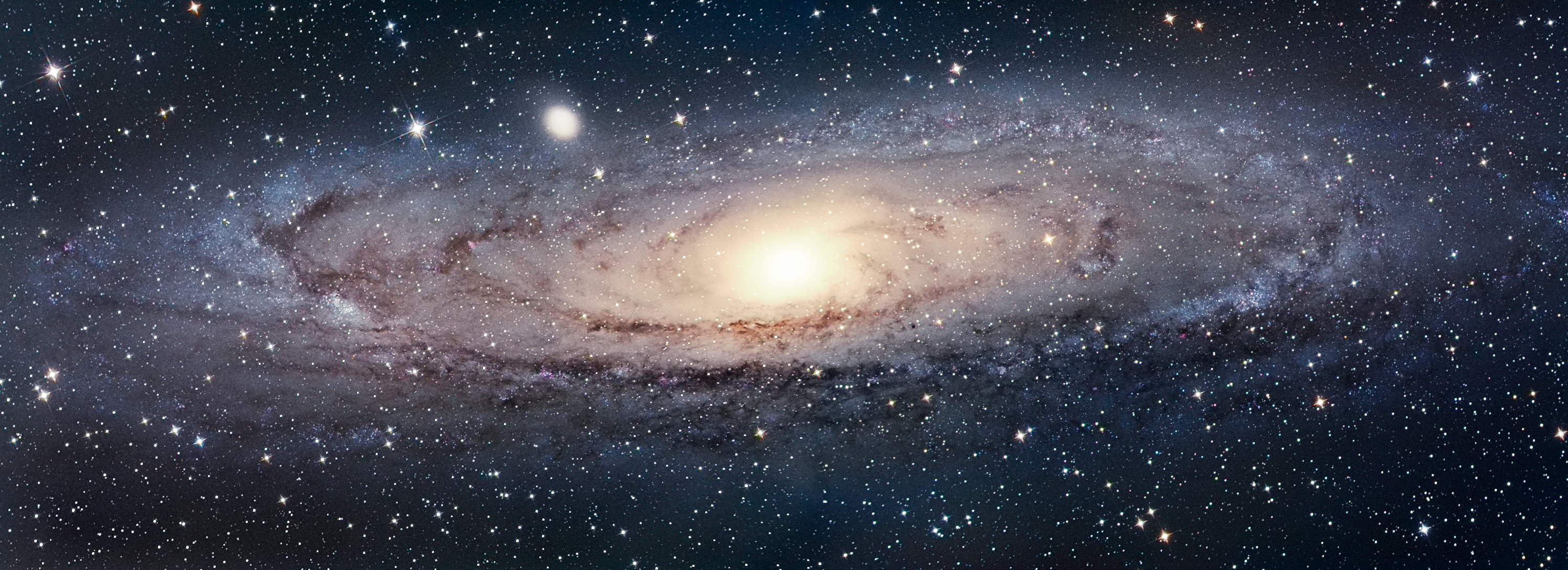 the milky way and andromeda galaxy distance from the viewed - photo #39